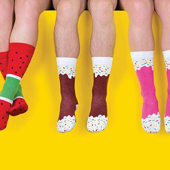 Lustige Socken