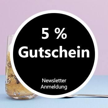 5% Rabatt: Newsletter abonnieren