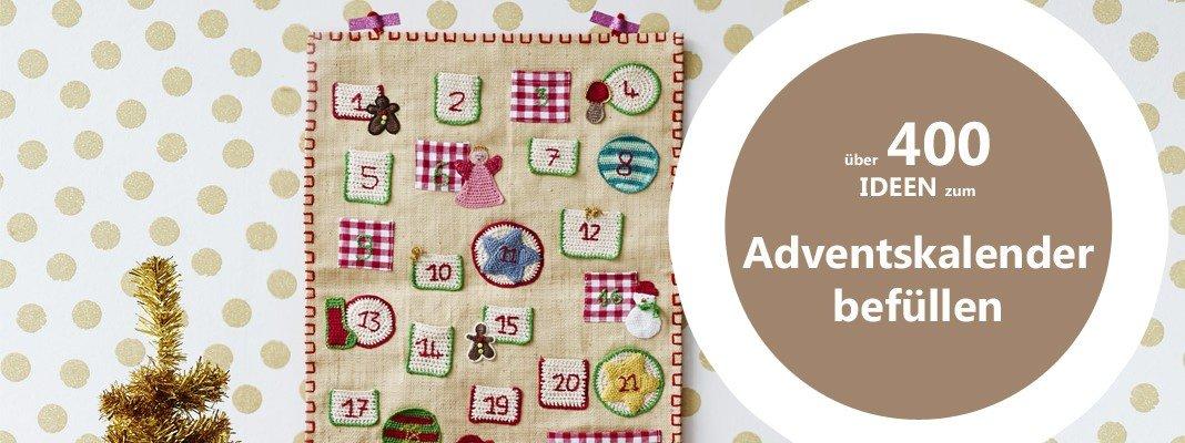 400 Produkte zum Adventskalender befüllen