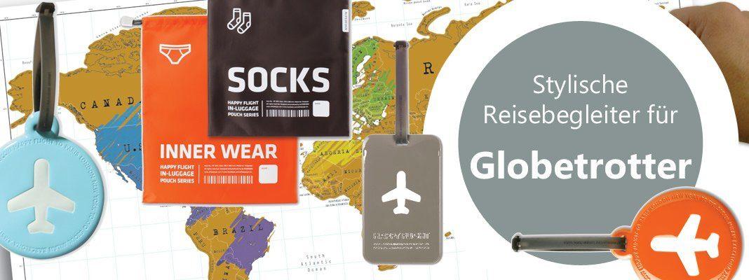 Reise Gadgets für Weltenbummler