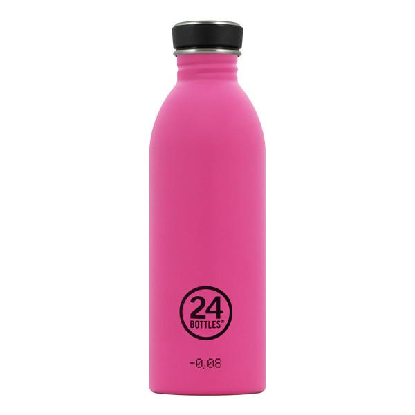 24Bottles Trinkflasche 0,5L URBAN aus Edelstahl, passion pink (knalliges pink)