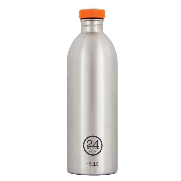 Edelstahl Trinkflasche 1 Liter von 24Bottles.