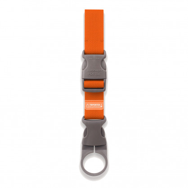 Flaschenhalter TRIPORTER orange von Alife Design. Bottle Holder orange. Bottle Buckle, Reisehelfer, Organizer, ...