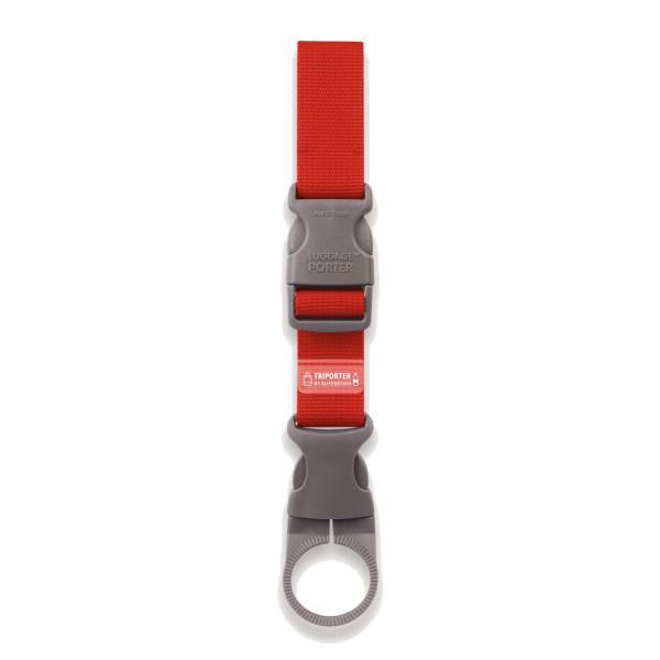 Flaschenhalter TRIPORTER rot von Alife Design. Bottle Holder Alife red. Reisehelfer, Organizer, Taschenhalter, ...