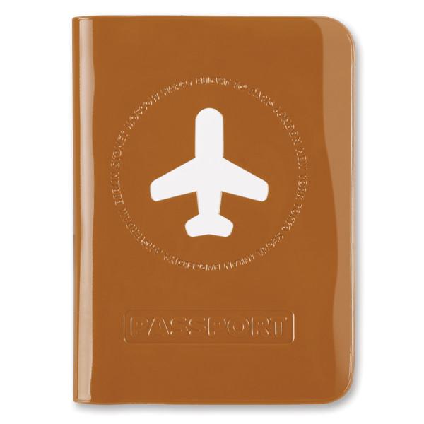 Passhülle Happy Flight terracotta
