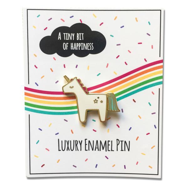 Anstecker Pin Einhorn -  Black Panther - Fashion-Pin Unicorn
