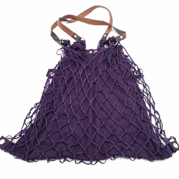 Einkaufsnetz Kulturbeutel de Luxe violett