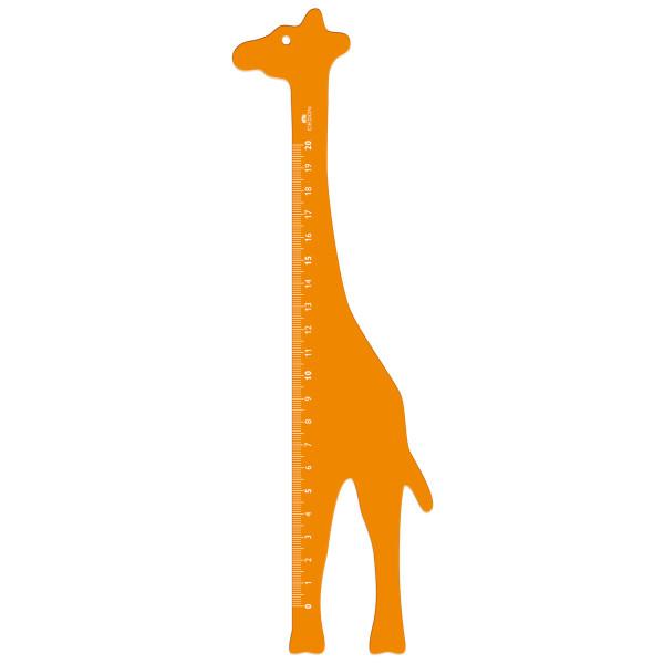 Lineal Giraffe 20 cm