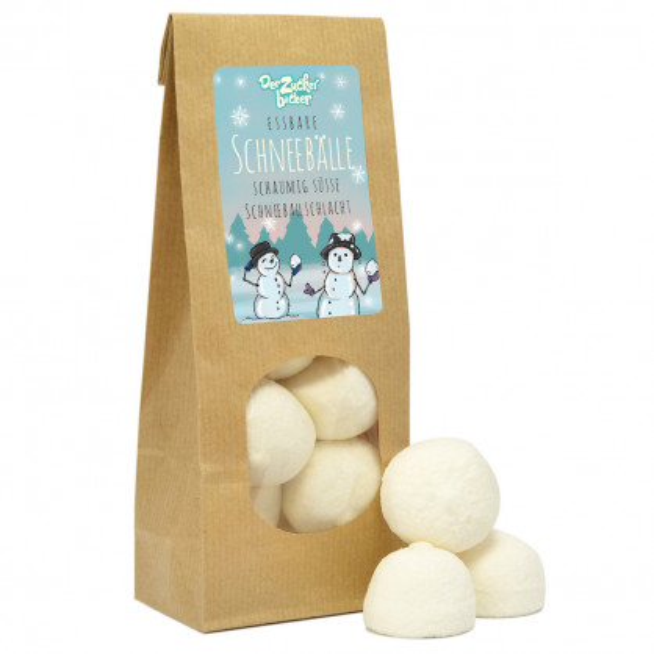 Essbare Schneebälle - Marshmallows