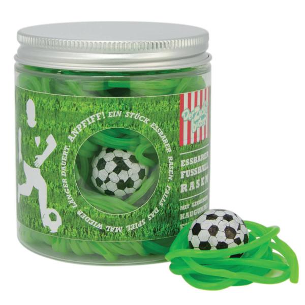 Naschdose - Essbarer Fußballrasen