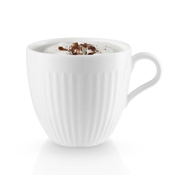 Weiße Kaffeetasse 30 cl LEGIO NOVA - Eva Trio - gefüllt