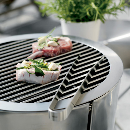 Eva solo holzkohle grill grillfass klein for Grill holzkohle