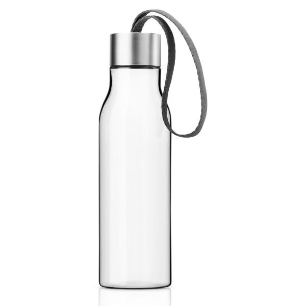 Trinkflasche 0,5l, grau