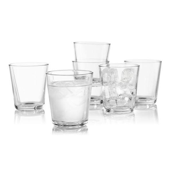 Trinkgläser 250 ml von Eva Solo. Design Wassergläser im Set a 6 Stück.