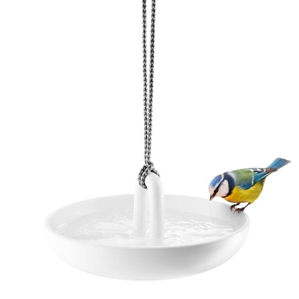 Vogeltränke / Vogelbad Keramik weiß by Tools Design für Eva Solo.
