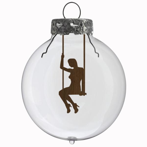 Glaskugel / Weihnachtskugel Schaukel #2