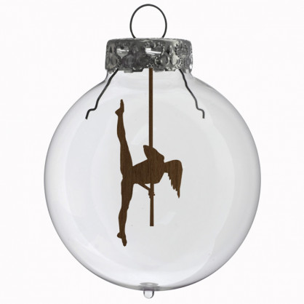 Glaskugel / Weihnachtskugel Stange #1