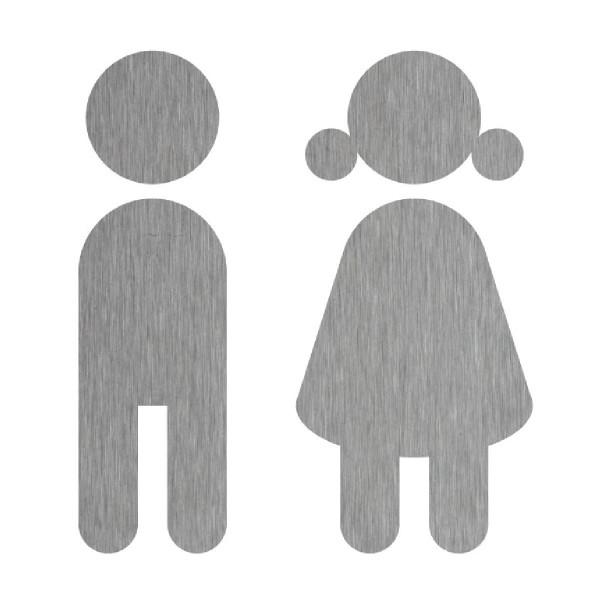 Türschild WC, Toilette, ... JUNGE & MÄDCHEN N°23