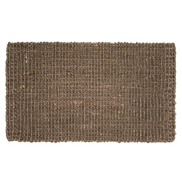 Fußmatte Hampton, Jute Matte braun 75 x 45 cm