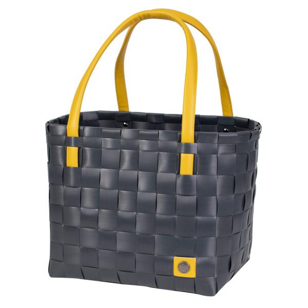 Tasche, Strandtasche, Einkaufstasche - Block Shopper - anthrazit - Handed By - BFC369700