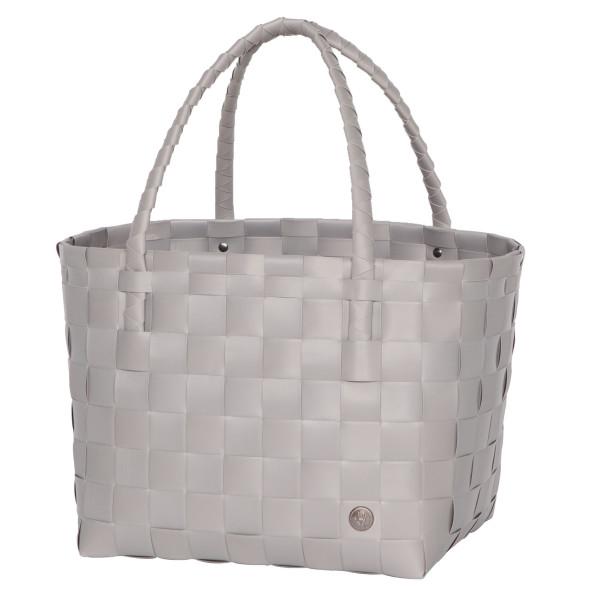Tasche, Strandtasche, Einkaufstasche - Paris Shopper - brushed grau - Handed By - hellgrau
