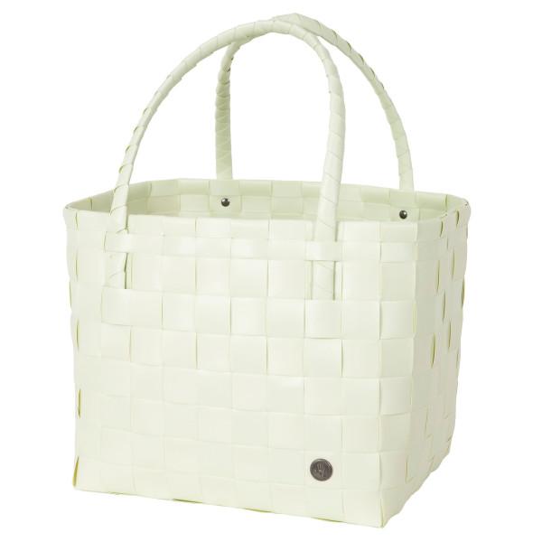 Mintgrüne Einkaufstasche, Strandtasche, Einkaufskorb, Henkeltasche, Shopper ... Paris S von Handed By. Fair und sozial produziert!