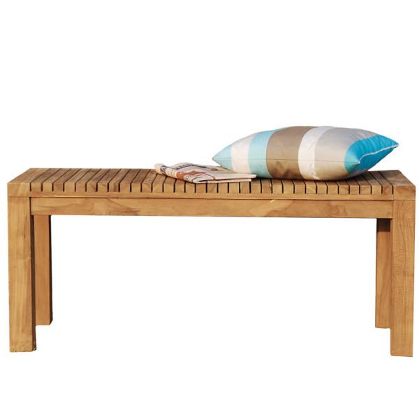 Bank Samoa Teak Holz, 102 cm