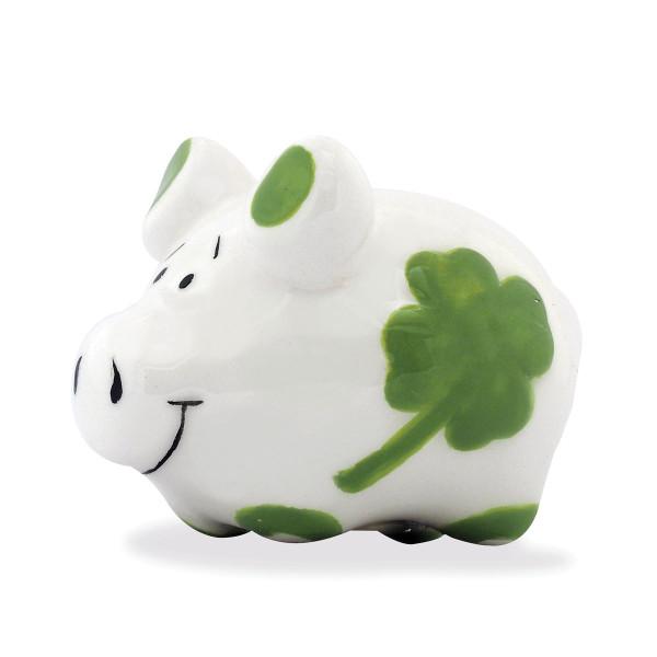 Mini Glücksschwein Magnet aus Keramik - KCG Chaoskind.