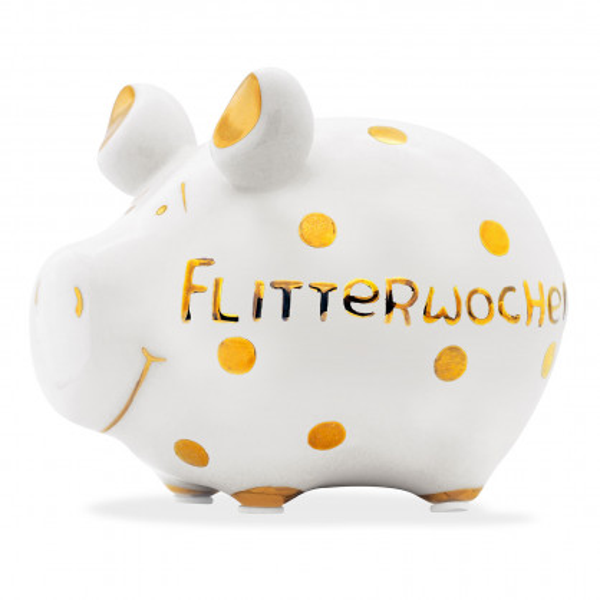 Sparschwein GOLD-Edition, Flitterwochen