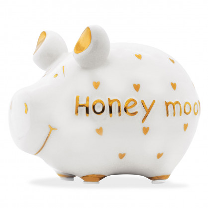 Sparschwein GOLD-Edition, honey moon