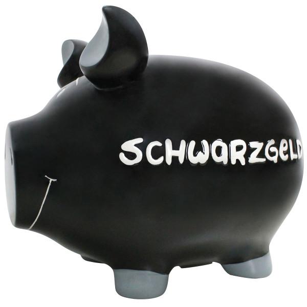 Sparschwein Schwarzgeld, Monsterschwein XXL 30 cm