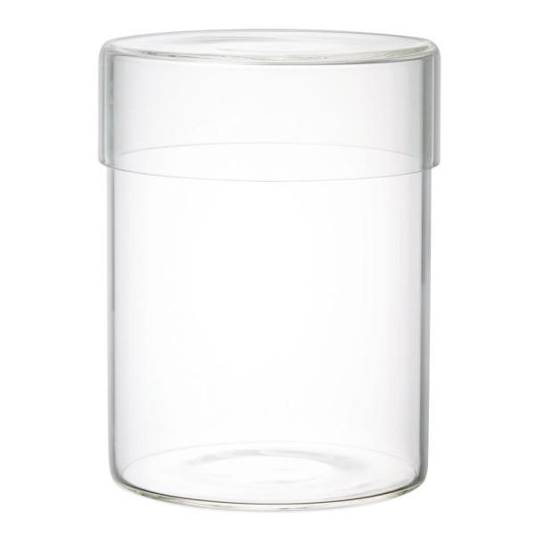 Aufbewahrungsglas Schale glass CASE 800 ml von KINTO Design - Glasbehälter mit Glasdeckel 800 ml