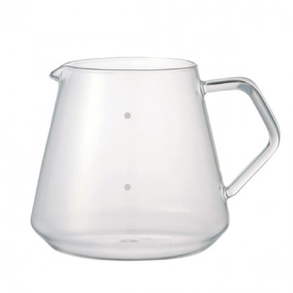 Glaskanne 4 Cups vom japanischen Hersteller KINTO. Volumen 600ml.