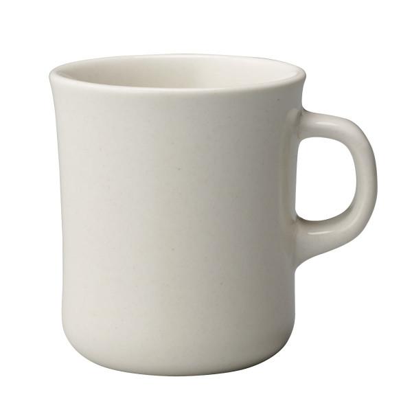 Henkeltasse - Kaffeetasse - 400 ml - Slow Coffee Style - mug - weiß - Porzellan - KINTO