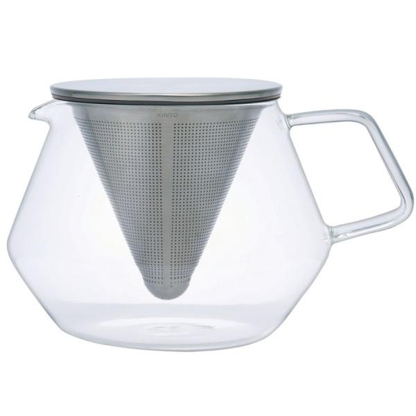 Teekanne CARAT aus Glas mit Teefilter 850ml