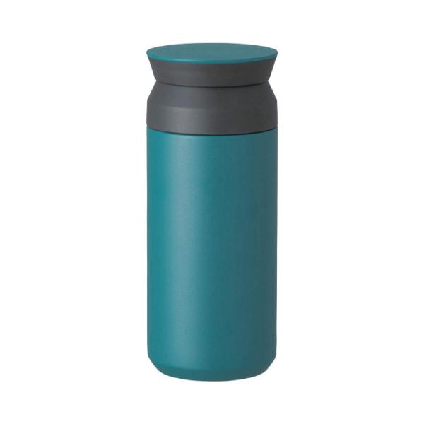 Travel Tumbler Thermobecher in petrol (türkis) von KINTO Design. Doppelwandiger, BPA-freier Isolierbecher aus Edelstahl.