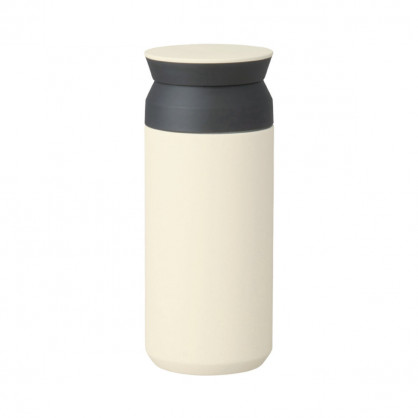 Thermobecher 350 ml - Isolierbecher to go - Coffee to go Becher - Travel Tumbler - KINTO Design - weiß