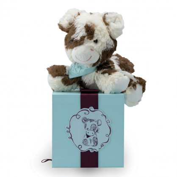 Stofftier Kuh Les Amis - 19 cm