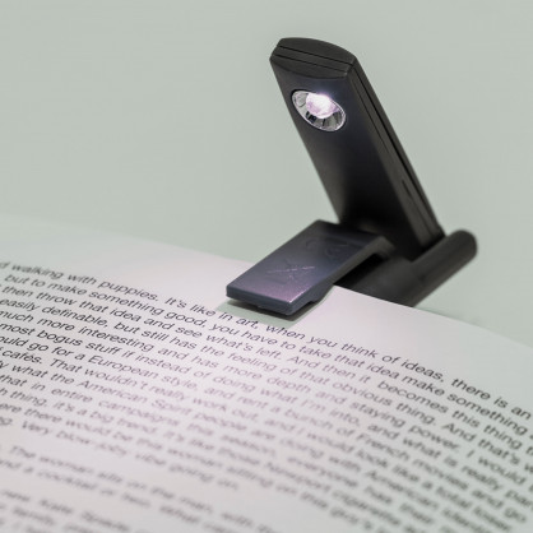 Klemmlicht BOOK LIGHT schwarz