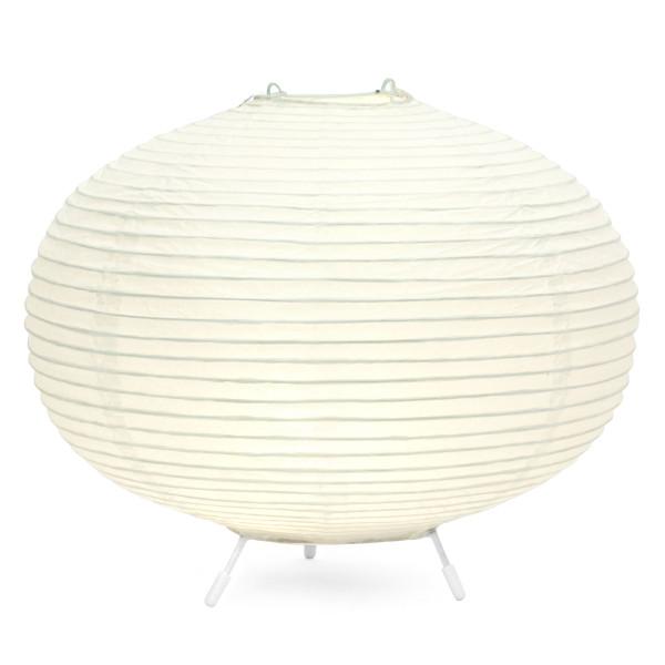 Die elegante, runde Papierlampe SOPHIA im japanischen Design, sorgt mit ihrer warmen LED-Lichtquelle für eine gemütliche Beleuchtung. (Batteriebetrieb)