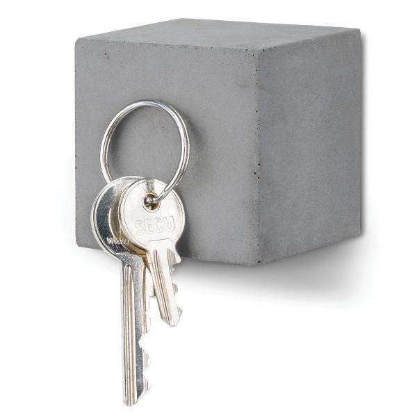 Schlüsselhalter Block magnetisch aus Beton
