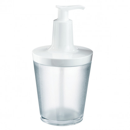 Seifenspender FLOW transparent-weiss 250 ml