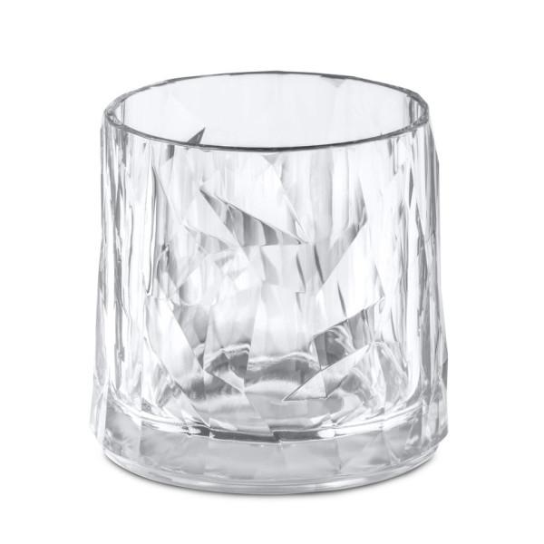 Koziol Trinkglas Superglas Club No.2, transparent. Kunststoffglas 250 ml.