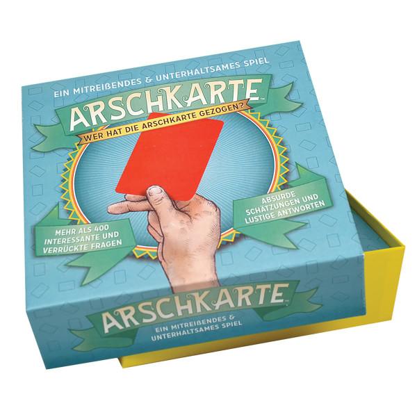 Gesellschaftsspiel Arschkarte