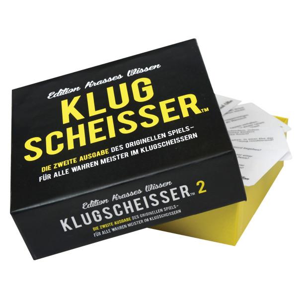Gesellschaftsspiel Klugscheisser 2 - Edition Krasses Wissen