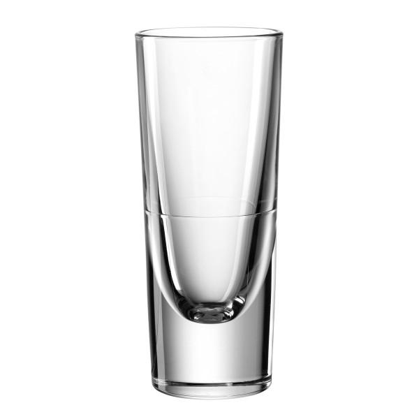 Transparentes Grappa Glas von LEONARDO. Stabiler, schwerer Grappa Becher / Likör Glas GILLI von LEONARDO.