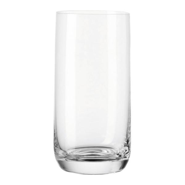 Zylindrisches Longdrinkglas von LEONARDO Design. Wasserglas / Trinkglas DAILY 330 ml.