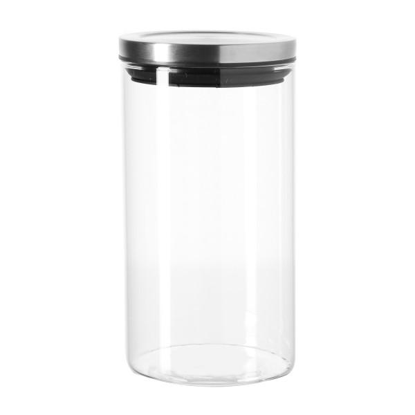 Vorratsglas 1 L COMODO von LEONARDO mit Deckel. Vorratsdose aus Glas für Gewürze, Kaffee, Tee uvm.