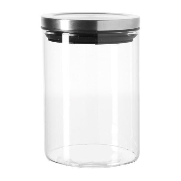 Vorratsglas 0,5 L COMODO von LEONARDO mit Deckel. Vorratsdose für Gewürze, Kaffee, Tee uvm.