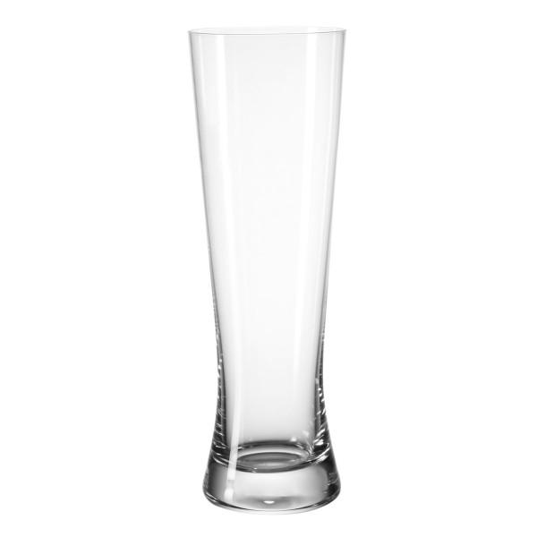 Modernes Weizenbierglas von LEONARDO. Schlichtes Weißbierglas BIONDA. Das schlichte Bierglas mit verbesserter Glasrezeptur.